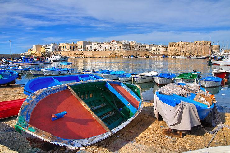 Gallipoli, la ville-île entre ciel et eau