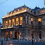 L'opéra, de nuit
