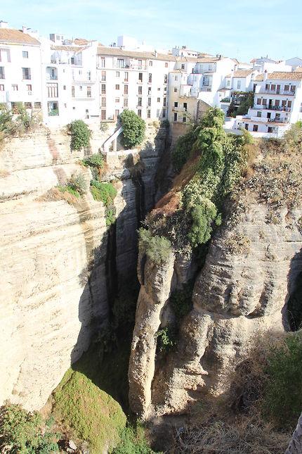 Vertige à Ronda en Andalousie