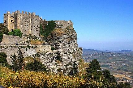 Erice il castello di Venere