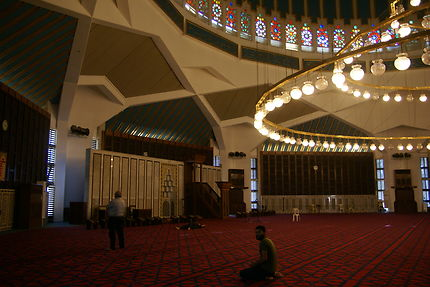 La mosquée Abdallah à Amman en Jordanie