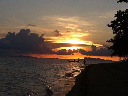 1er coucher de soleil