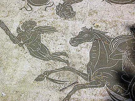 Ostia Antica - Mosaïque