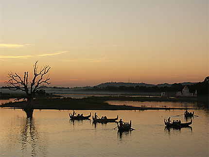 Pêche sur l'Irrawady
