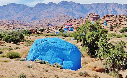 Tafraoute - Le désert peint