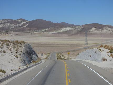 Le pied de la Cordillère des Andes