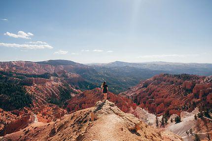 Point de vue panoramique sur Cedar Breaks