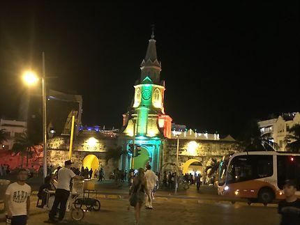 Vieille ville de Cartagene en décembre