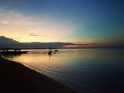 Sunset in Gili Air