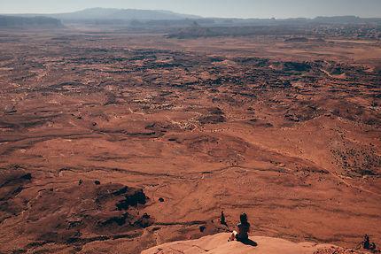 Décor infini de Canyonlands National Park