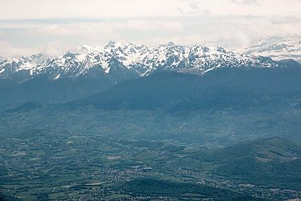 Lans-en-Vercors - Vue sur les montagnes