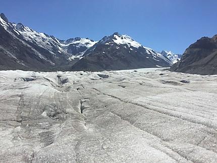 Le plus grand glacier de Nouvelle-Zélande