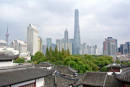 La tour Shanghai