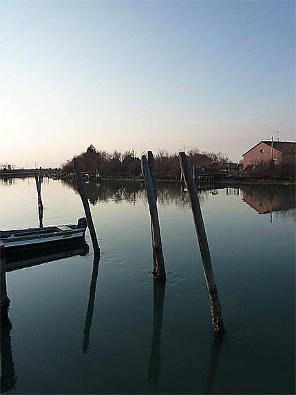 Grand canal de Torcello