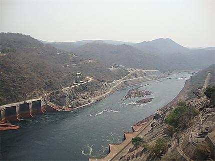 Le Zambèze après le barrage de Kariba