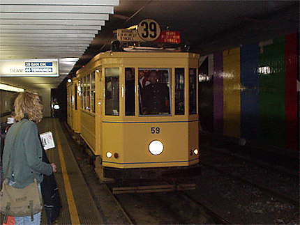 Un train standard à Montgomery