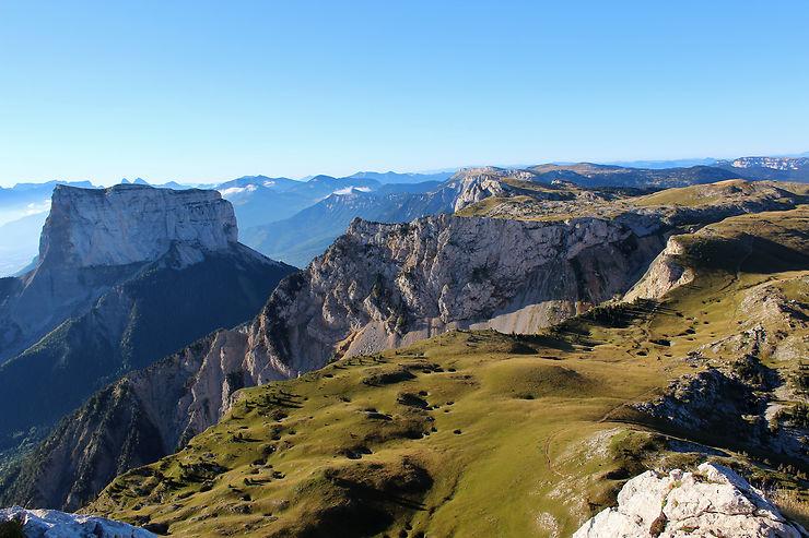Le massif du Vercors (Isère, Drome)