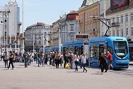 Place Bana Josipa Jelačića à Zagreb