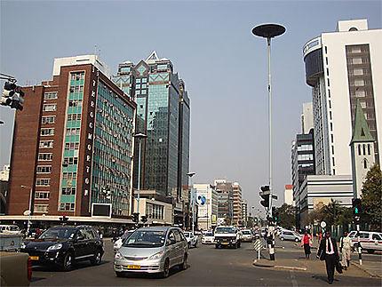 La capitale du Zimbabwe