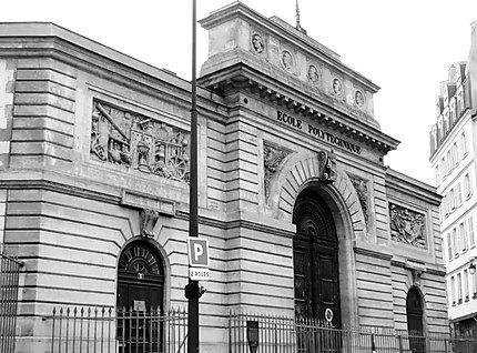 Ancienne Ecole Polytechnique Noir Et Blanc 5eme Arrondissement
