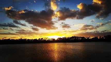 Floridian sunset - Mickey's Retreat