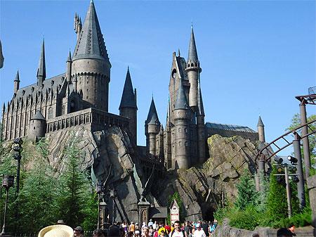 Le Chateau D Harry Potter Universal Studios Orlando