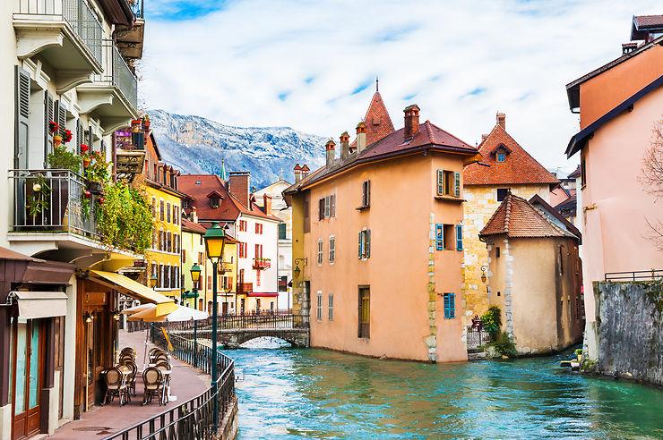Annecy et son lac (Haute-Savoie)
