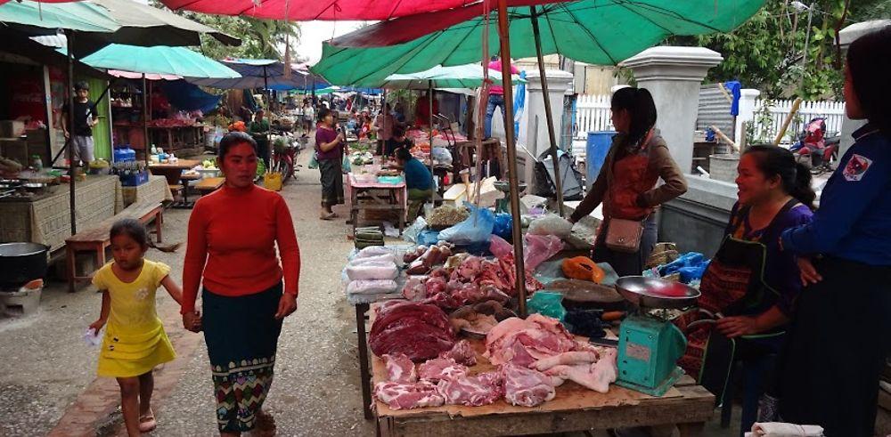 Arrêt de 6 jours à Luang Prabang au Laos
