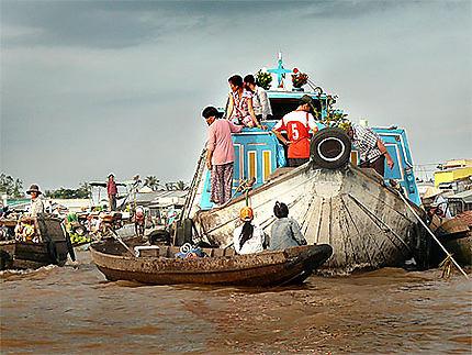Marché flottant de Can Tho