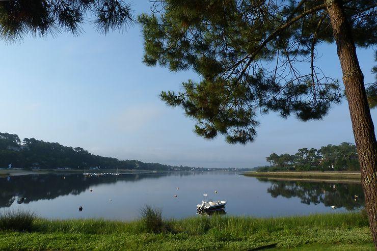 Le lac marin d'Hossegor - Landes, Aquitaine
