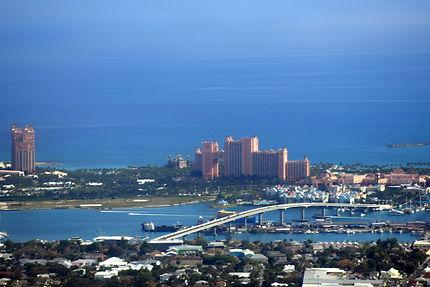 Vue aérienne de Nassau