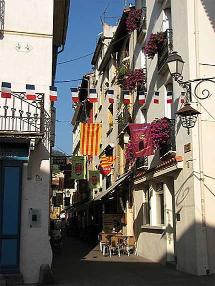 Petite rue de Prats-de-Mollo