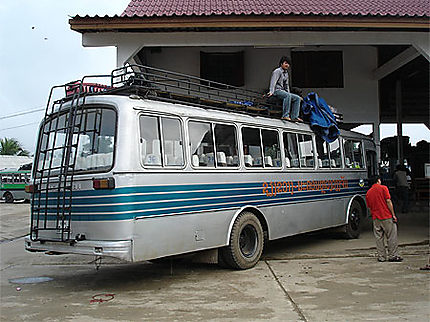 La gare routière de Luang Prabang