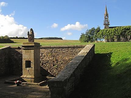 Fontaine de Sainte Anne la Palud