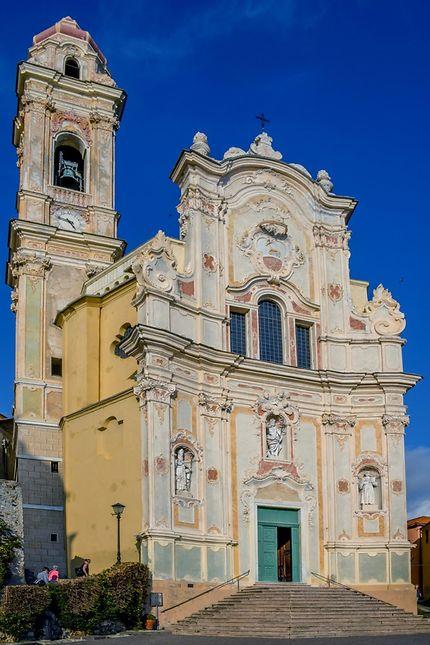L'église de Cervo en Italie
