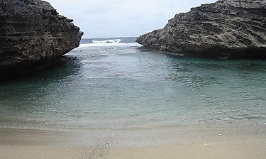 Anse Bouteille (île Rodrigues)