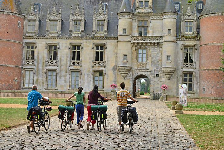 Échappées à Vélo en région Centre-Val de Loire