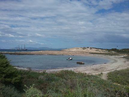 Formentera, playa de illetes