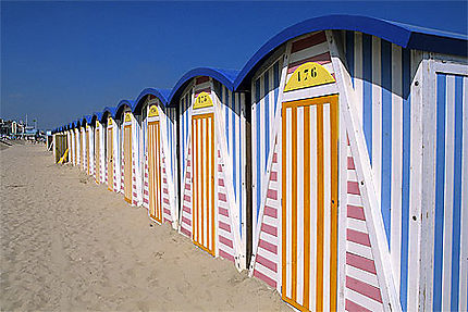 Cabines de plage, Malo-les-Bains