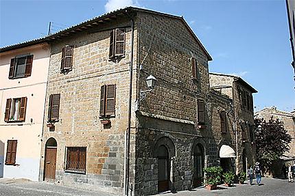 Une rue d'Orvieto