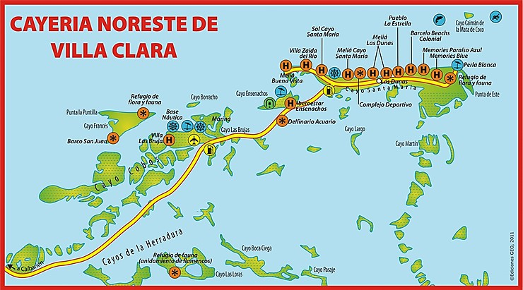 Cayo Santa Maria/Guillermo/Coco : Forum Cuba   Routard.com