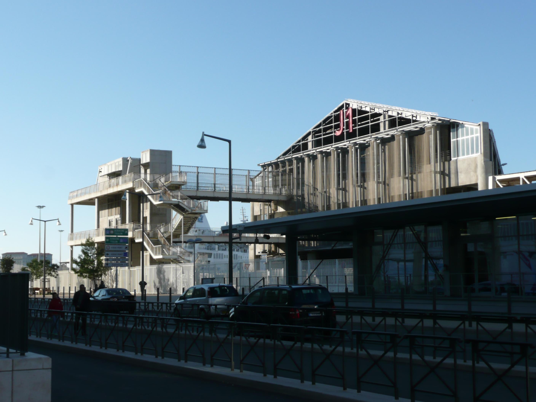 Gare st charles marseille terminal de croisi res forum - Distance gare saint charles port marseille ...