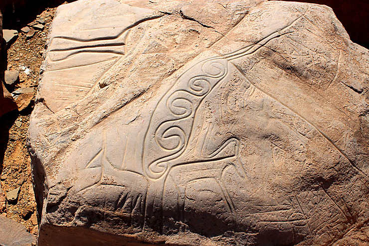 Gravures rupestres d'Ait ouaazik 0139d.w740
