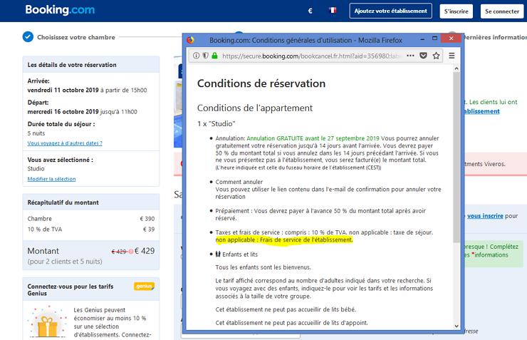 Reservation Sur Booking Frais De Service Forum Ou Et