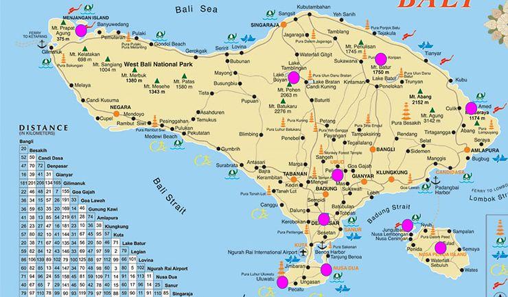 Carte Bali Routard.Premiere Idee De Parcours Bali Besoin De Vous Les Experts