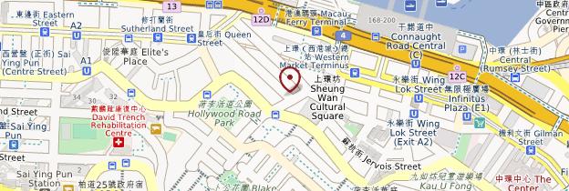 Carte Sheung Wan - Hong Kong