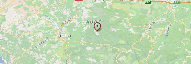 Carte Aude - Languedoc-Roussillon