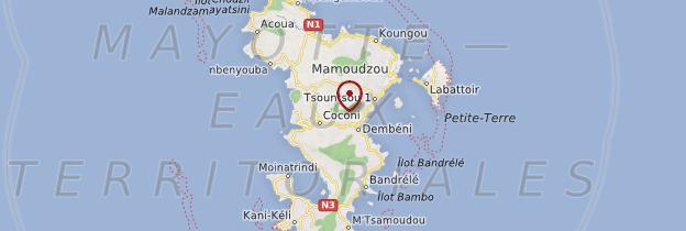 Carte Grande-Terre - Mayotte