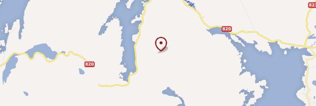 Carte Îles Lofoten et Vesterålen - Norvège