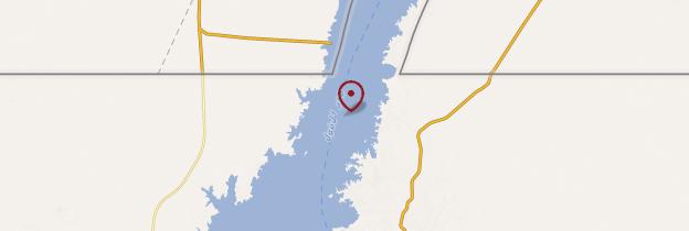 Carte Lac Nasser - Égypte